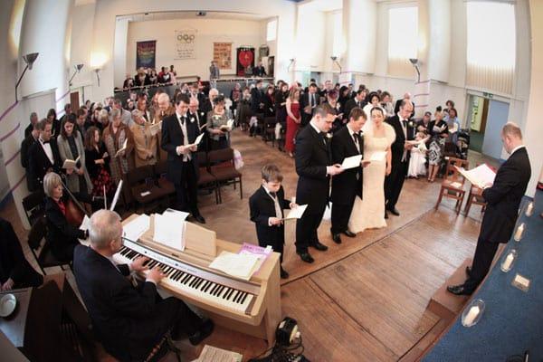 Wedding Photography at Moortown Baptist Church, Leeds