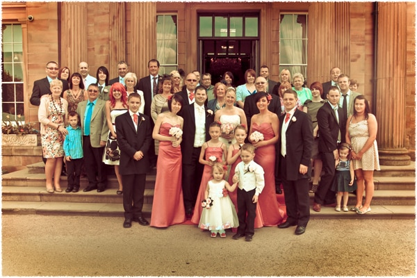 Wedding Photography at Oulton Hall, Leeds