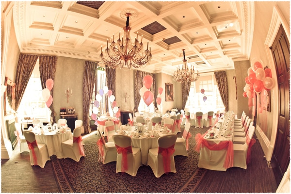 Oulton Hall wedding room Leeds