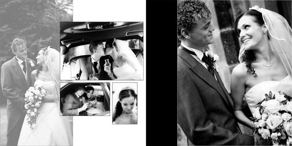 Leeds Wedding Photographer Wedding Album Design